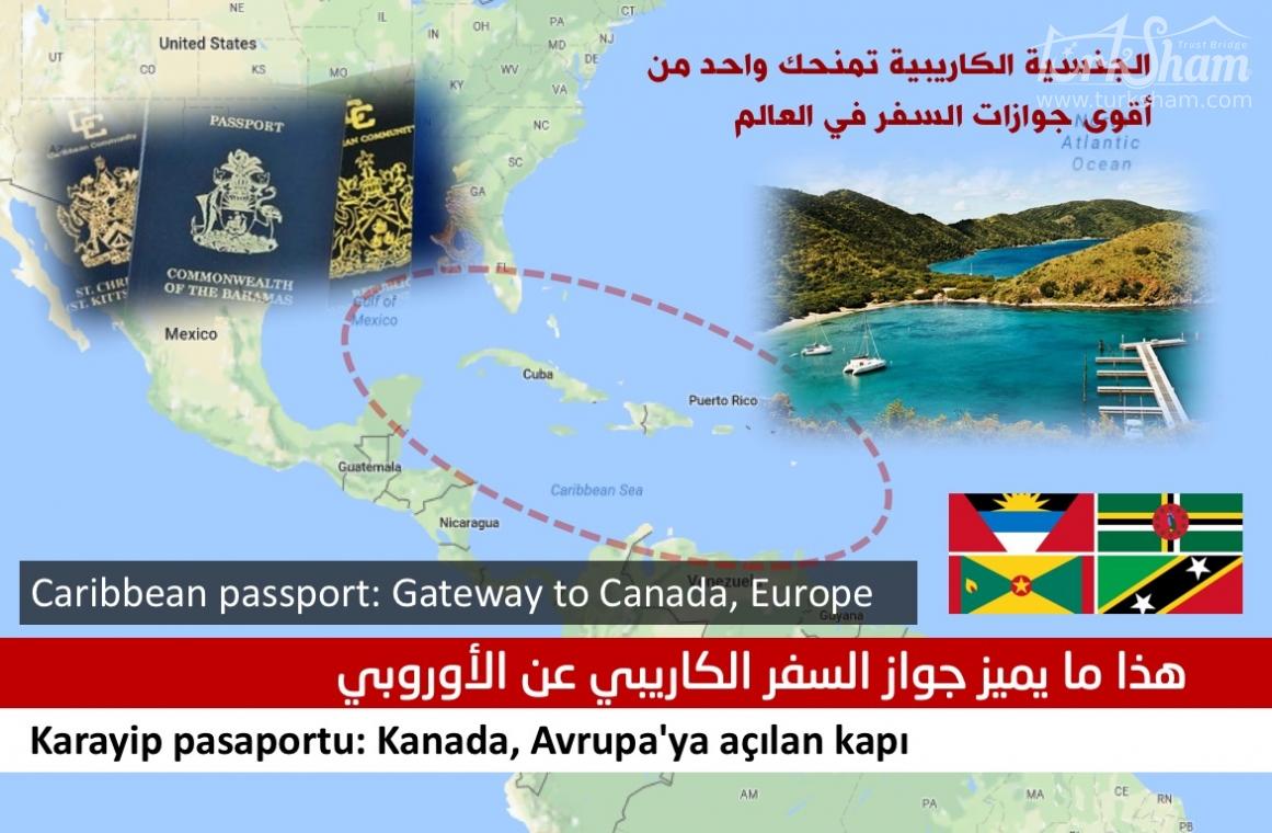 الجنسية الكاريبية تمنحك واحد من أقوى جوازات السفر في العالم