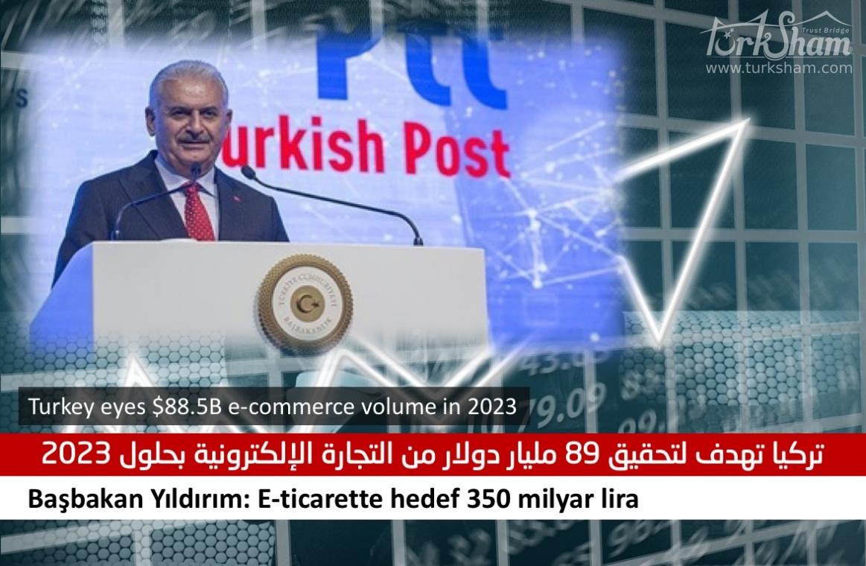 تركيا تهدف لتحقيق 89 مليار دولار من التجارة الإلكترونية بحلول 2023