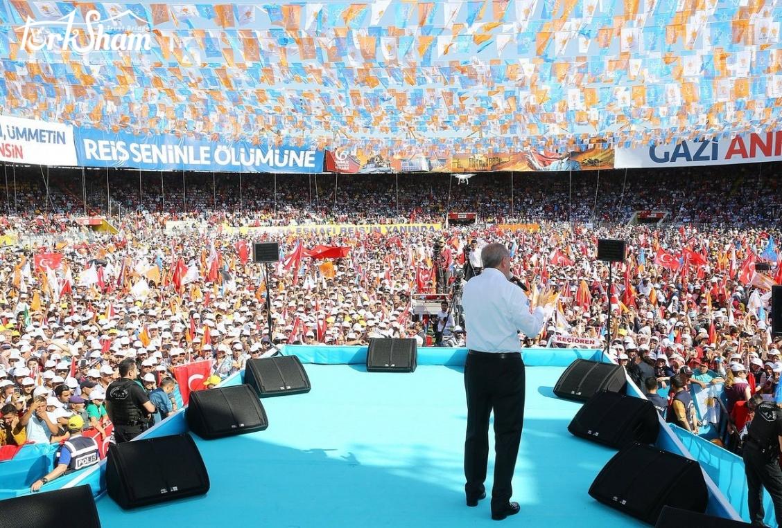 أردوغان يتعهد بإنشاء منطقة مخصصة للفضاء والطيران وفق المعايير الدولية
