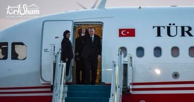 اردوغان يقوم بالرحلة الاولى الى مطار جديد في اسطنبول