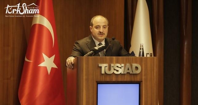 تركيا تسعى لأن تصبح من أكبر 10 اقتصادات في العالم