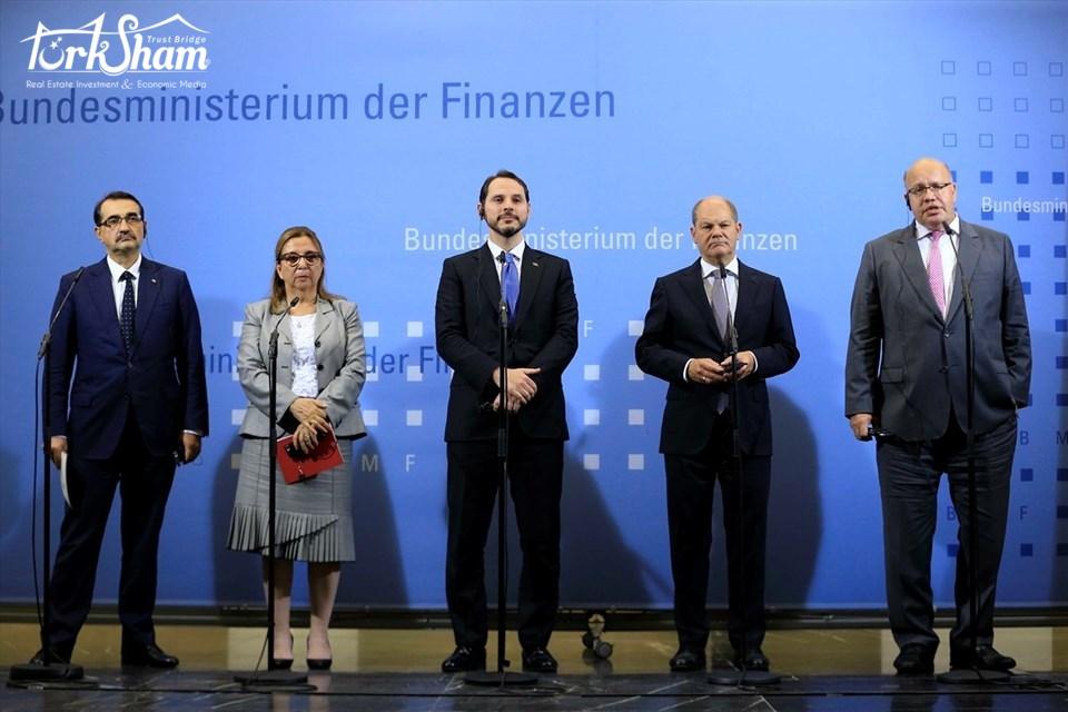 برئاسة وزير الاقتصاد .. وفد ألماني يزور تركيا لتعزيز العلاقات الاقتصادية