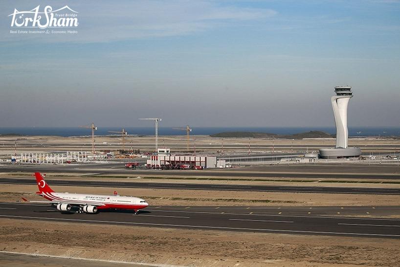 افتتاح مطار إسطنبول الجديد
