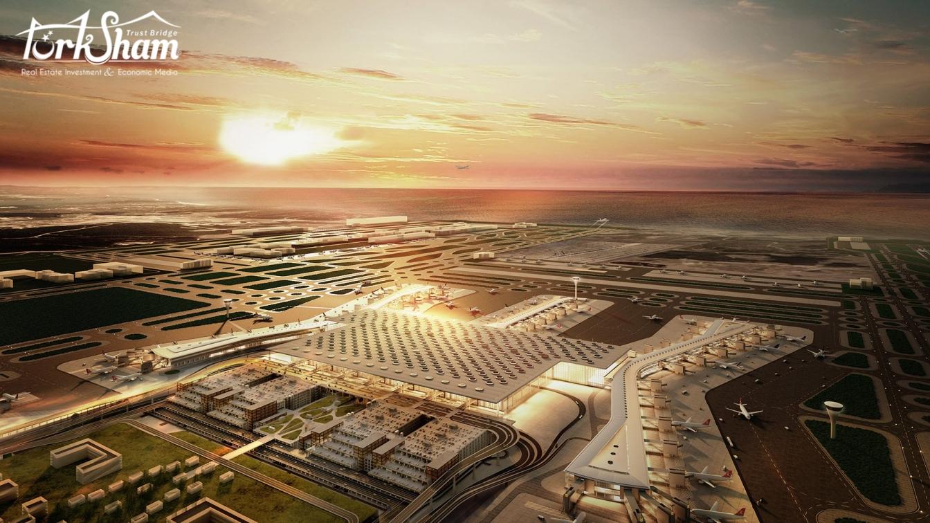 المطار سيخدم  ثلث سكان العالم