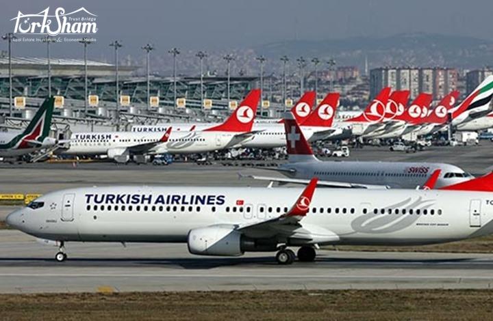 ركاب الخطوط الجوية التركية يقدر بـ 183 مليون في خلال 10 أشهر