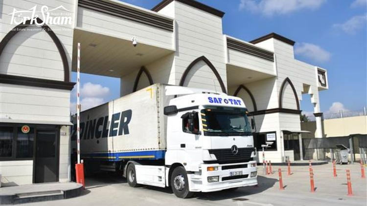 Gaziantep'in Suriye'ye ihracatı arttı