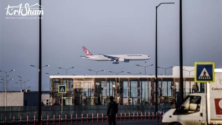 رقم كبير لمطار اسطنبول: 73 مليار ليرة ستسهم في الاقتصاد