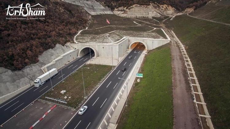 طريق جديد يخفض مدة الرحلة بين إسطنبول وازمير
