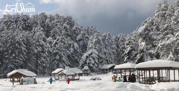 بحيرة أبانت التركية، الطبيعة الساحرة ووسياحة التزلج على الجليد