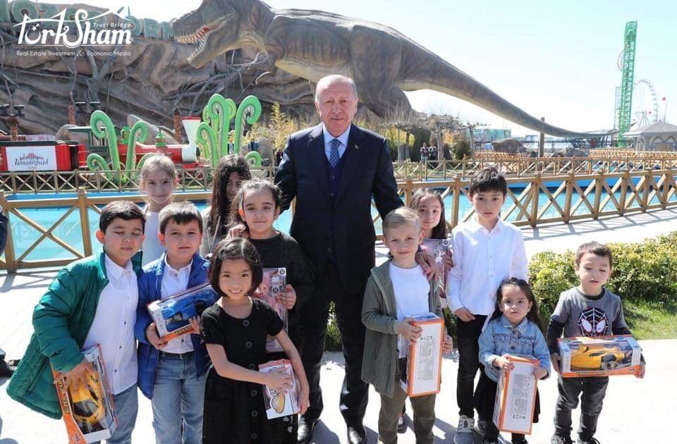 افتتاح أكبر حديقة ألعاب في اوروبا بأنقرة بتاريخ 20/03/2019