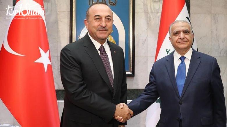 وزير الخارجية التركي: نعتزم رفع التبادل التجاري مع العراق إلى 20 مليار دولار