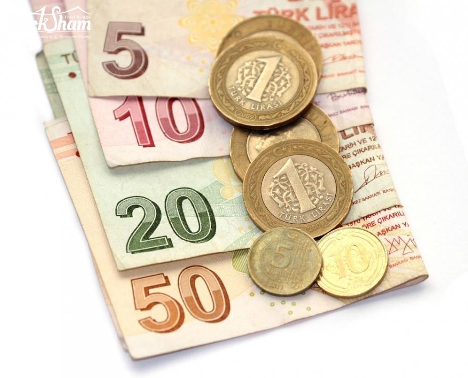 تراجع الليرة التركية امام الدولار