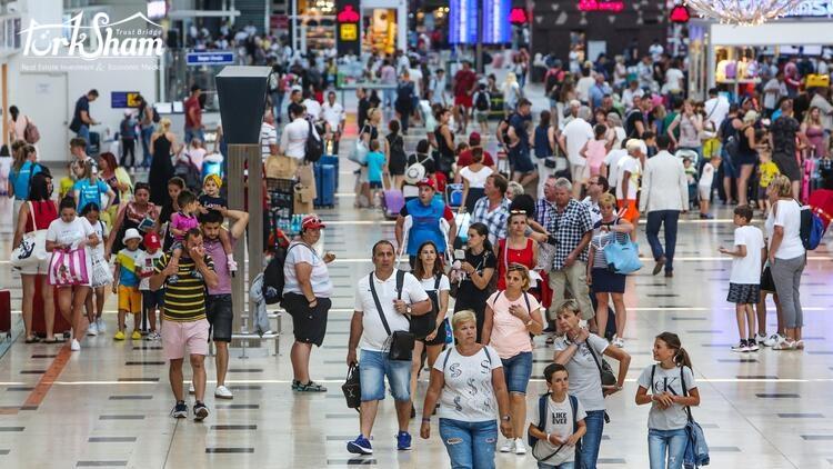 ارقام ضخمة تخص السياحة في مدينة انطاليا التركية
