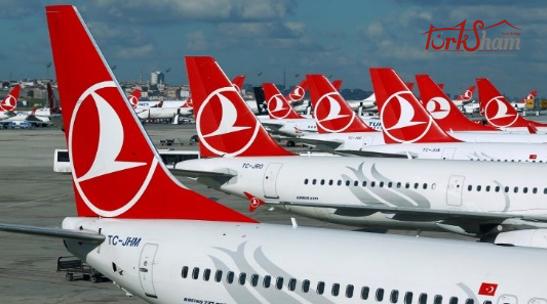 الخطوط التركية تنقل 95 مليون مسافر في 6 اشهر