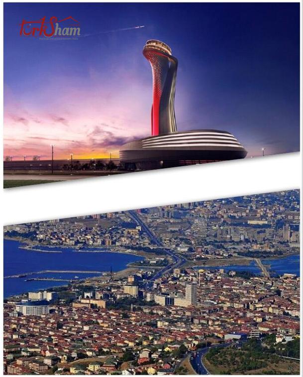 اسعار العقارات القريبة إلى مطار اسطنبول الجديد في زيادة