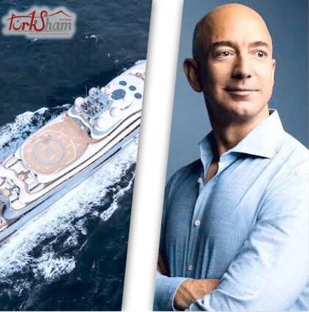 جيف بيزوز الرجل الاغنى في العالم يقضي عطلته على سواحل تركيا
