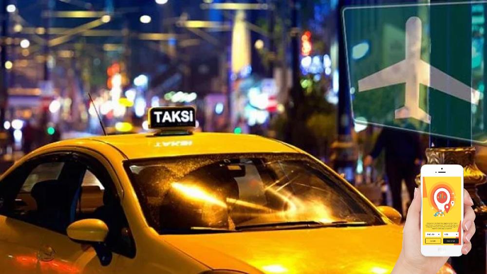 إطلاق تطبيق الكتروني خاص بسيارات الأجرة في مطار إسطنبول
