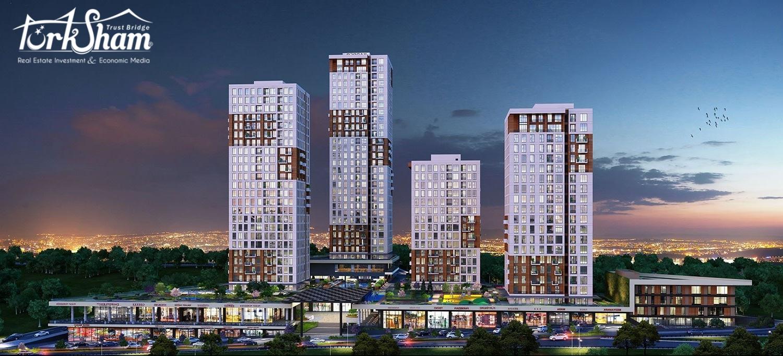 إعلان رقم 208 : تملك شقتك ومحلك التجاري في المشروع السكني الاستثماري العصري المتكامل الخدمات المتواجد في ايسنيورت على طريق المتروبوس.