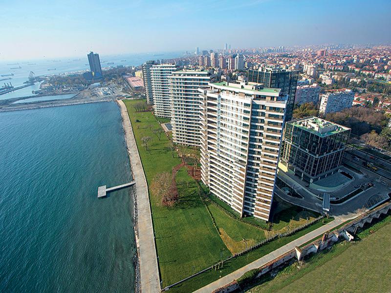 اعلان رقم 231 أول مشروع سكني في اسطنبول مطل على البحر مباشرة